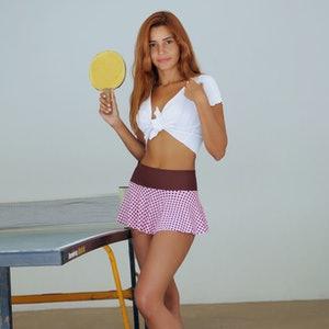 Agatha Vega metart pong party preview