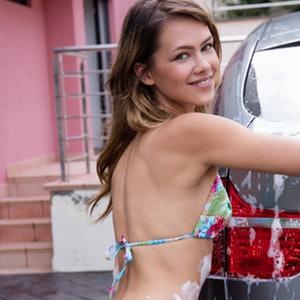 Laina metart sexy car wash preview